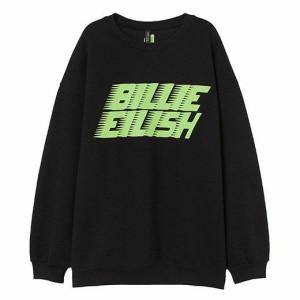 Harga sweater basic crewneck billie eilish shadow name size s xxl unisex   putih | HARGALOKA.COM