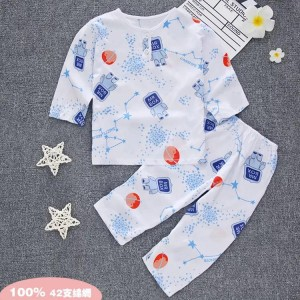 Harga piyama baju tidur bahan katun rayon organik premium usia 5 tahun   mr box   HARGALOKA.COM