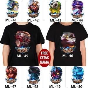 Harga kaos baju kids anak gambar game mobil legend 41   | HARGALOKA.COM