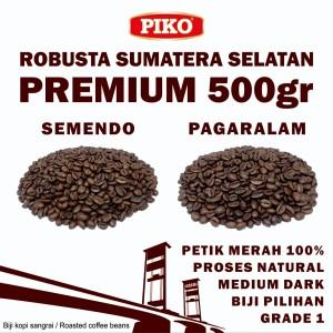 Harga kopi robusta sumatera selatan premium 0 5 kg roasted biji kopi bubuk   pagar alam biji   HARGALOKA.COM