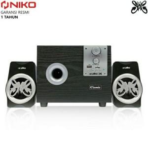 Harga speaker niko slank bluetooth aktif 2   HARGALOKA.COM