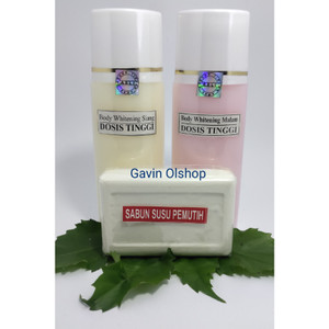 Harga handbody pemutih plus sabun | HARGALOKA.COM