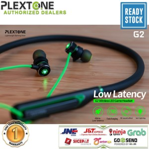 Harga plextone g2 earphone led gaming headset bluetooth 5 0 fast charging 3d   | HARGALOKA.COM