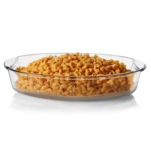 Harga loyang kaca oval tahan panas oven microwave save wadah saji | HARGALOKA.COM
