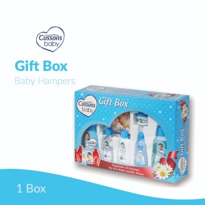 Harga cussons baby gift box perlengkapan mandi set kado paket kado bayi baby   merah | HARGALOKA.COM