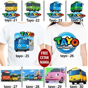 Harga kaos baju kids anak gambar tayo 21   30 | HARGALOKA.COM