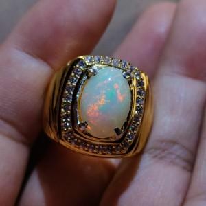 Harga cincin natural kalimaya kualitas sultan harga merakyat edisi | HARGALOKA.COM