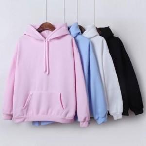 Harga hoodie jumper polos part 1 size m xxl unisex   abu muda | HARGALOKA.COM