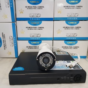 Harga paket cctv 5mp 4ch 1 camera full hd lengkap tggl pasang   HARGALOKA.COM