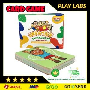 Harga mainan edukasi anak play labs creative expression kartu | HARGALOKA.COM