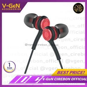 Harga handsfree v gen vep1 03 wired earphone headset hd | HARGALOKA.COM