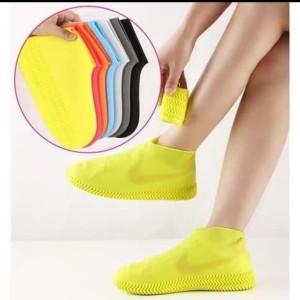 Harga promo cover sepatu hujan beli 1 dapat 1 jadi 2 pasang     kuning   HARGALOKA.COM