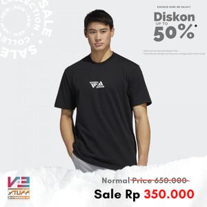 Harga kaos adidas original pria unisex athletics one team graphic tee   | HARGALOKA.COM
