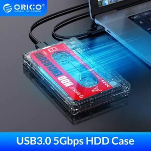 Harga orico hdd enclosure 2 5 casing hardisk hdd tape kaset design usb 3 | HARGALOKA.COM