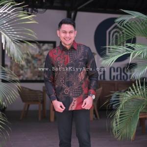 Harga baju kemeja batik pria motif tulis seperti atbm sutra pesta seragam | HARGALOKA.COM