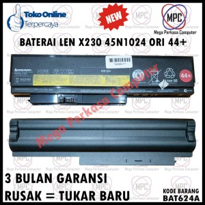 Harga batere baterai lenovo x230 x230t 45n1025 45n1024 44 | HARGALOKA.COM
