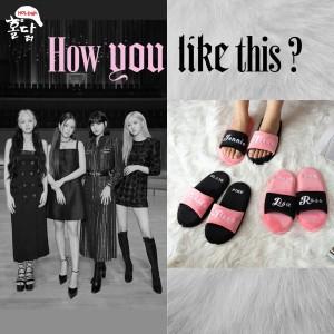 Harga holdak blackpink home sandals bundling 2 | HARGALOKA.COM