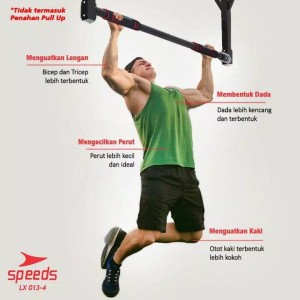 Harga pull up bar speeds speeds door chinning bar indoor | HARGALOKA.COM