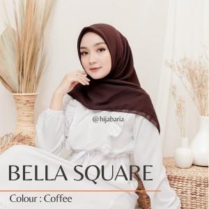 Harga jilbab segi empat   coffee hijab bella cokelat | HARGALOKA.COM