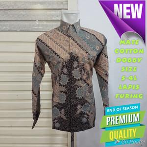 Harga baju kemeja batik pria motif tulis seperti atbm sutra pesta | HARGALOKA.COM