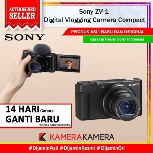 Harga sony zv1 sony zv  1 kamera vlog compact digital camera   body   HARGALOKA.COM