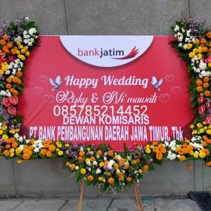 Harga karangan bunga pernikahan wedding toko bunga florist bunga | HARGALOKA.COM