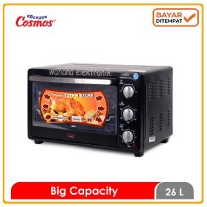 Harga cosmos oven listrik toaster 26 ltr co 9926 rgc bbq extra besar   | HARGALOKA.COM