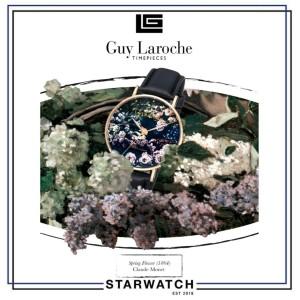 Harga promo jam tangan wanita guy laroche art watch ga1001sf 02 | HARGALOKA.COM