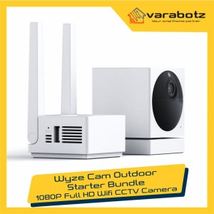 Harga wyze cam outdoor starter bundle 1080p wifi cctv | HARGALOKA.COM