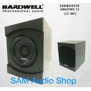 Harga speaker subwoofer aktif hardwell amazing 12 inch 12inch | HARGALOKA.COM