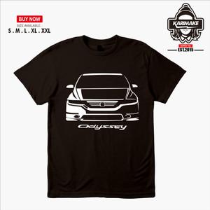 Harga kaos baju mobil honda odyssey rb1 kaos otomotif   | HARGALOKA.COM