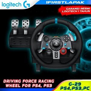 Harga logitech driving force g29 racing wheel ps3 ps4 playstation 3 4 | HARGALOKA.COM