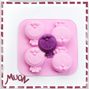 Harga muon cetakan doraemon silikon utk kue jelly pudding es krim   HARGALOKA.COM
