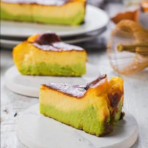 Harga basque burnt cheese cake matcha kue ulang tahun dan hari raya   15 | HARGALOKA.COM