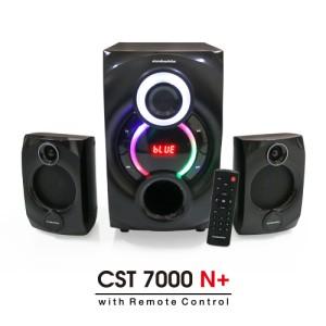 Harga speaker bluetooth simbadda cst 7000n subwoofer bass power led   HARGALOKA.COM