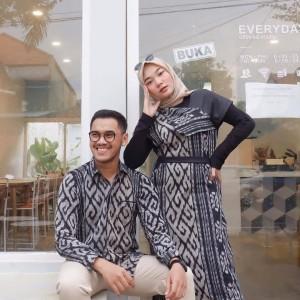 24 Harga Couple Gamis Tempel Batik Murah Terbaru 2020 Katalog Or Id
