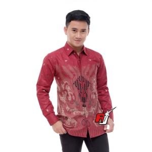 Harga baju batik kemeja khas pekalongan banyak | HARGALOKA.COM
