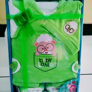 Harga kado lahiran baju bayi gift set baju bayi baru lahir merek kiddy baby     HARGALOKA.COM