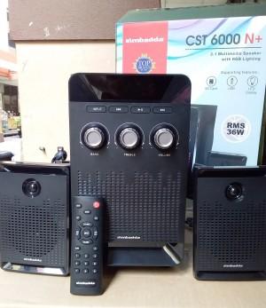 Harga speaker aktif bluetooth simbadda cst 6000n subwoofer bass   HARGALOKA.COM