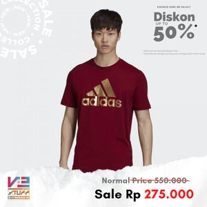 Harga kaos adidas original pria athletics adidas athletics graphic tee   | HARGALOKA.COM