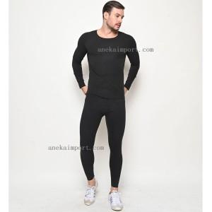 Harga pakaian dalam musim dingin pria long john baju longjohn hangat | HARGALOKA.COM