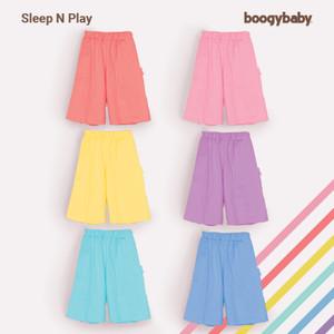 Harga boogy sleep n play   celana anak pendek kulot unisex   kuning 5 7 | HARGALOKA.COM