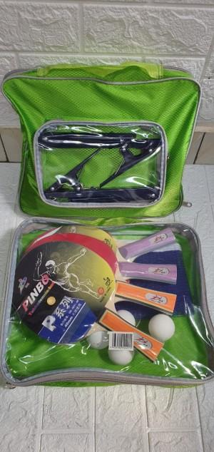 Harga bad bat bet bat pingpong tenis meja pinbo set paket | HARGALOKA.COM