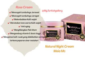 Harga rose cream maia cosmetik natural night cream | HARGALOKA.COM
