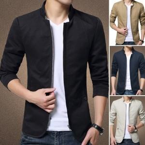 Harga jaket blazer pria lengan panjang jaket pria semi formal | HARGALOKA.COM