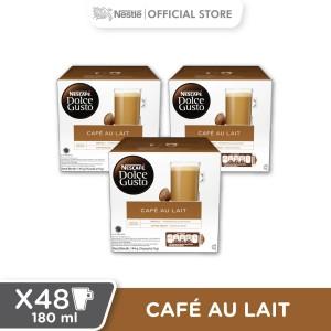 Harga caf au lait 3 box 48 kapsul 48 gelas | HARGALOKA.COM