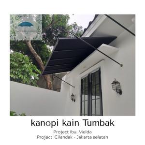 Harga atap kanopi kain tumbak   jakarta selatan   | HARGALOKA.COM