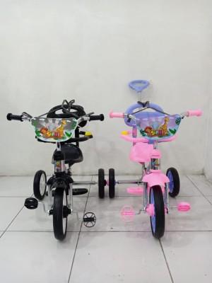 Harga sepeda anak roda 3 pmb safari bmx 721 dorongan sepeda anak   | HARGALOKA.COM