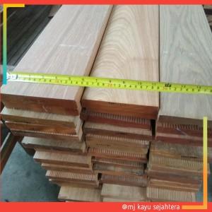 Harga papan lantai decking kayu bengkirai ukuran jumbo lebar 14 5 | HARGALOKA.COM