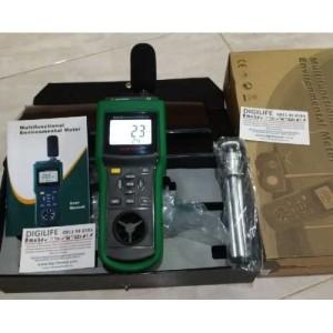 Harga mastech ms6300 environment tester sound lux meter anemometer | HARGALOKA.COM